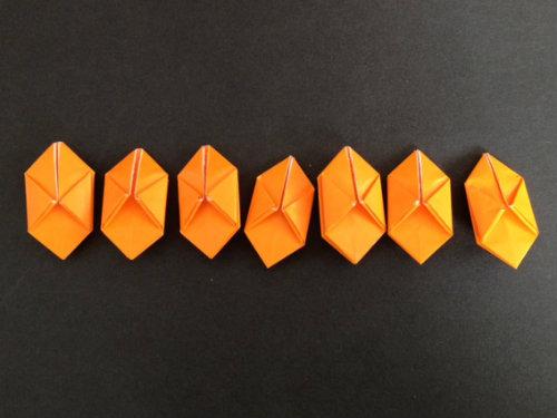 ハート 折り紙:ハロウィン 折り紙 かぼちゃ-divulgando.net