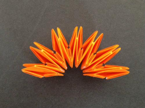 花 折り紙 折り紙 かぼちゃ 折り方 : cbox.jp