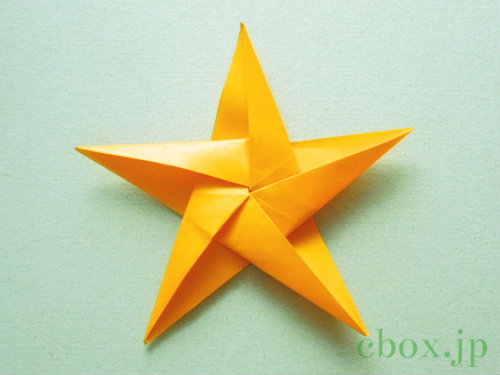簡単 折り紙 両面折り紙 折り方 : cbox.jp