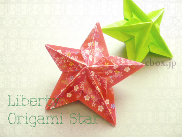 Origami Star Decorations