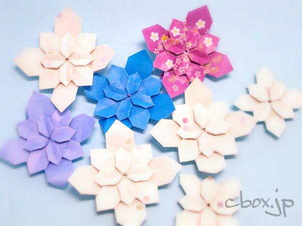 難しい 花 折り紙