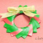 【クリスマスの折り紙】ミニリース(メッテさんのリング) by Mette Pederson