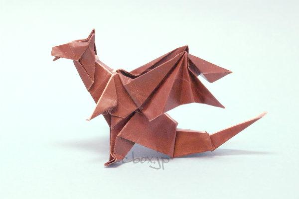 折り 折り紙 折り紙ドラゴンの作り方 : cbox.jp
