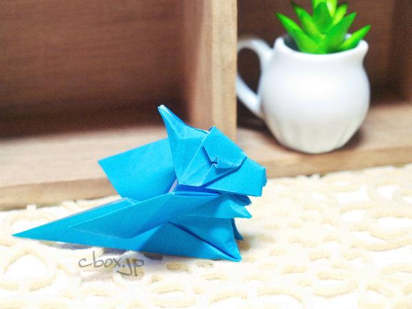 すべての折り紙 折り紙ドラゴンの作り方 : した Jo Nakashimaさんのドラゴン ...