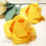【折り紙】父の日の花「黄色いバラ」