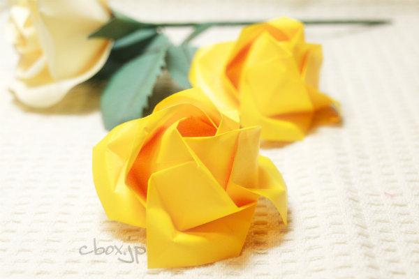 ハート 折り紙:折り紙 花 カーネーション-cbox.jp
