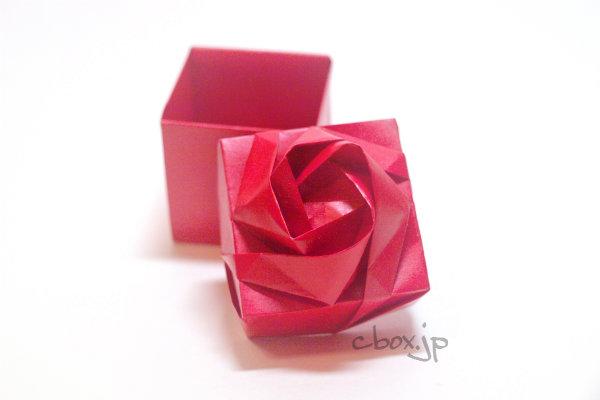 ハート 折り紙 折り紙 ローズ : cbox.jp