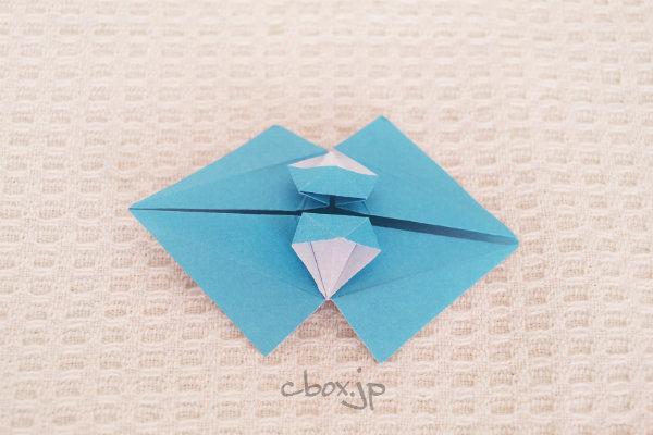 クリスマス 折り紙 : 折り紙傘の作り方 : cbox.jp