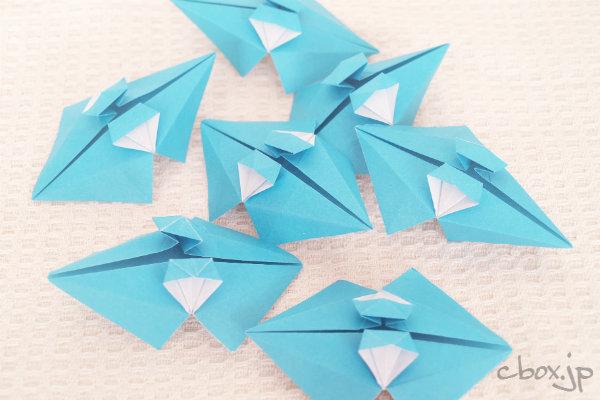 クリスマス 折り紙 折り紙傘の作り方 : cbox.jp