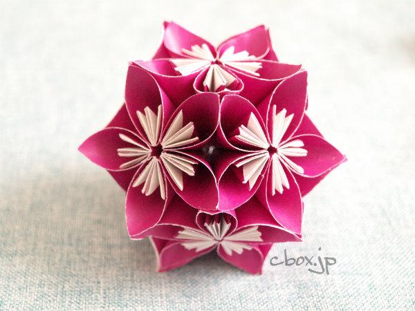 折り紙の 折り紙の花 : cbox.jp