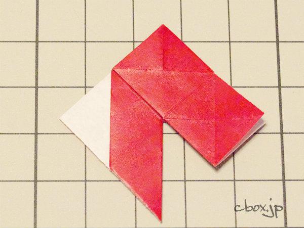 クリスマス 折り紙 折り紙 バラの折り方 : cbox.jp