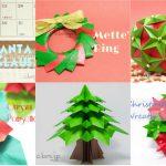 クリスマスの折り紙まとめ