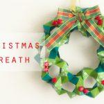 【クリスマス】折り紙105枚で作るクリスマスリース