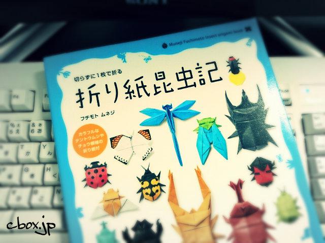 夏休みの自由研究にも!書籍「折り紙昆虫記」で標本作りが楽しそう